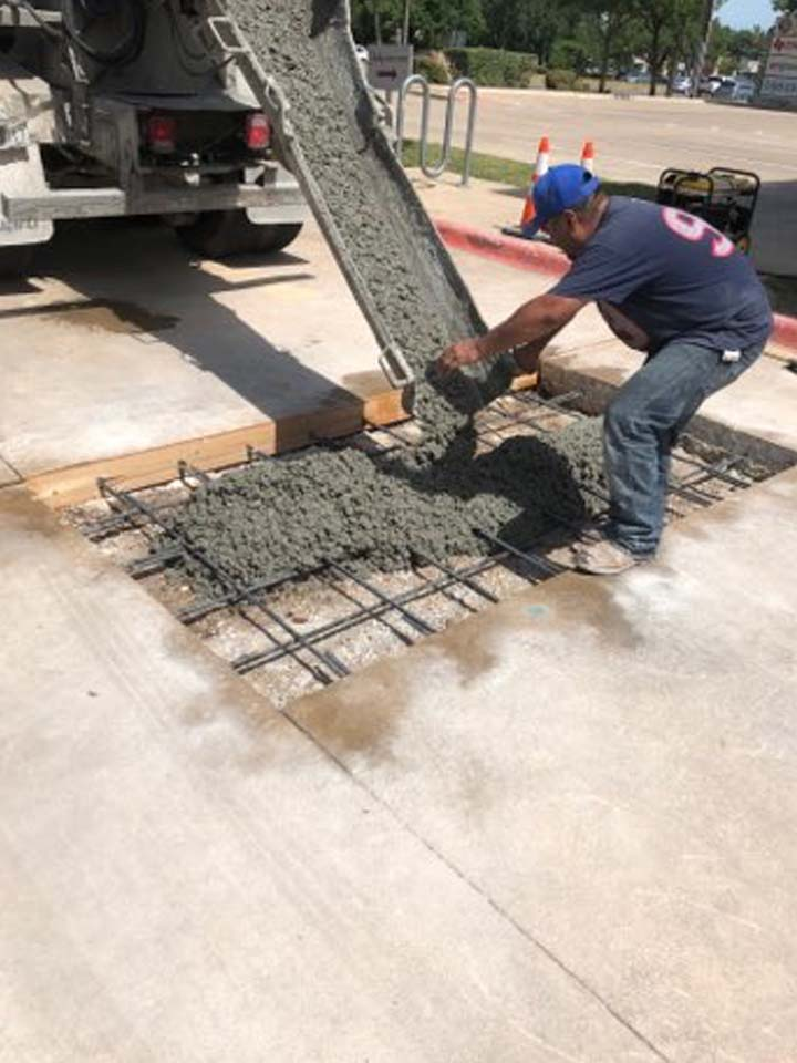 Parmer Ln & Lakeline Blvd Parking Lot Asphalt Repair
